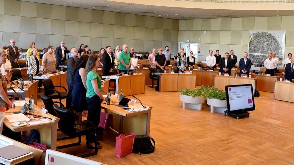 Konstitutierende Sitzung des Gemeinderats 2019 | Foto: Thomas Tröster / Stadt Mannheim