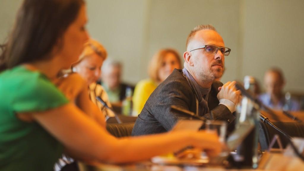 Dirk Grunert im neuen Gemeinderat | Foto: Alexander Kästel (www.rentadesigner.de)