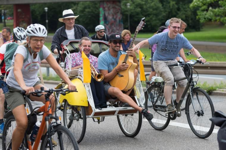 Teilnehmer*innen der Radparade 2019 | Foto: CKI