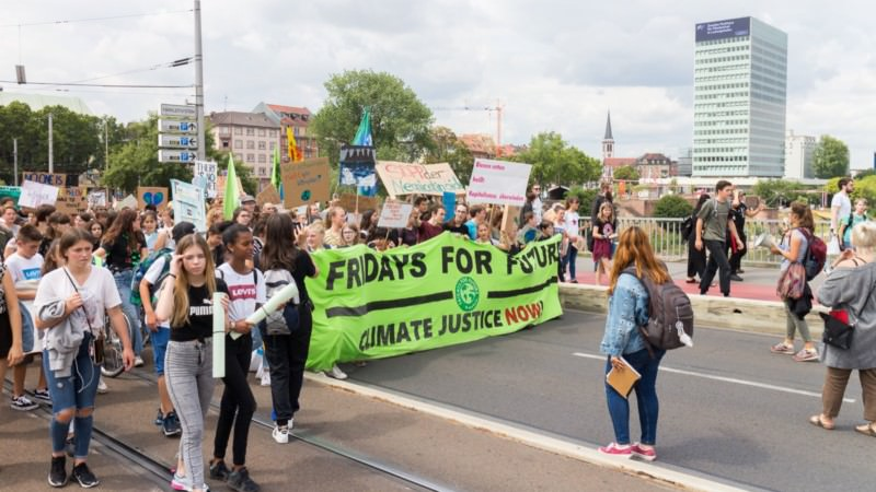 Fridays for future Mannheim am 19. Juli 2019 | Foto: CKI