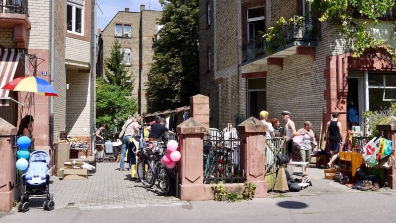 Im Bereich um die Uhlandstraße war wieder am meisten los   Foto: M. Schülke