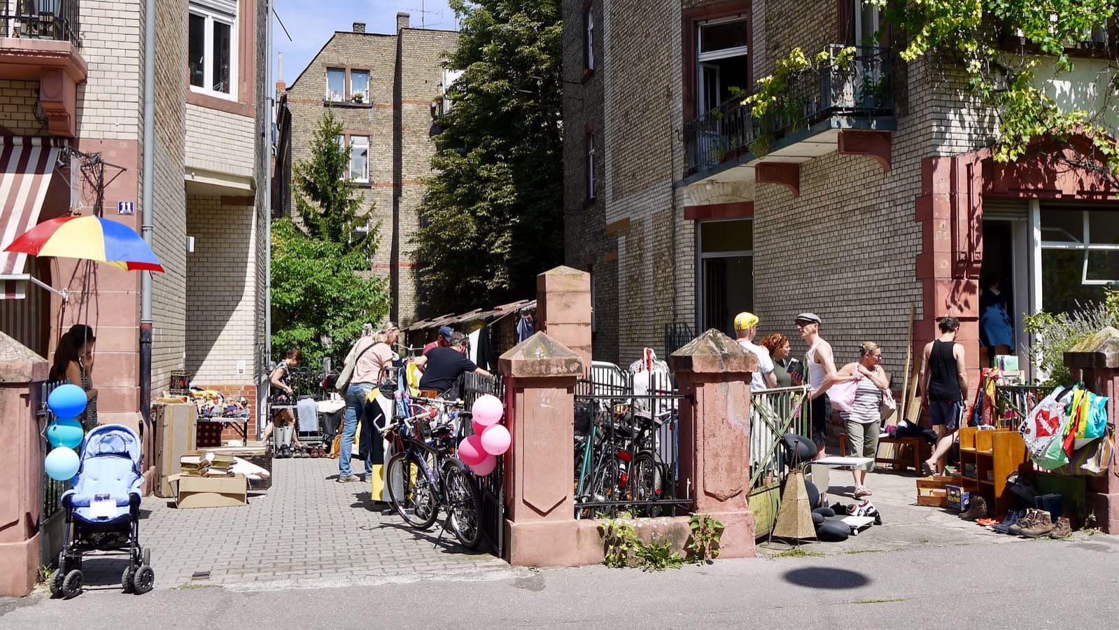 Im Bereich um die Uhlandstraße war wieder am meisten los | Foto: M. Schülke