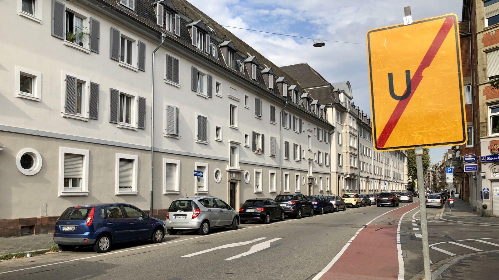 In der Käfertaler Straße wird zu schnell gefahren (Archivbild 2018) | Foto: M. Schülke