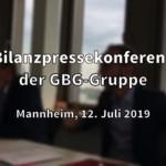 Bilanzpressekonferenz der GBG-Unternehmensgruppe (Video)