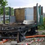 Waggons des Alten Bahnhofs ausrangiert