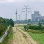 8-Jähriger mit Quad auf Neckarwiese unterwegs