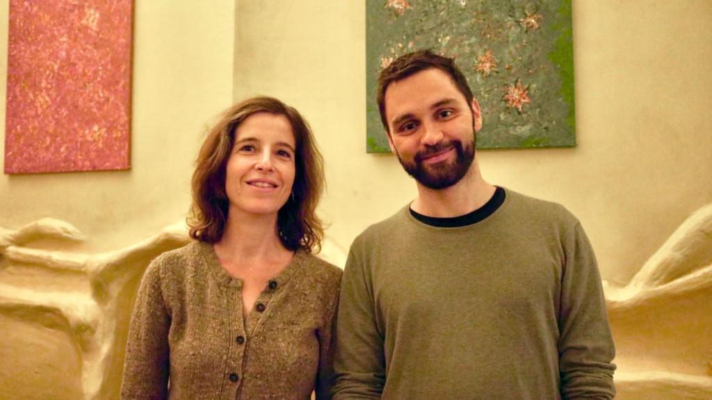 Die neu gewählte Sprecherin Anne-Katrin Volkert und ihr Stellvertreter Johannes Schuler | Foto: Grüne Neckarstadt