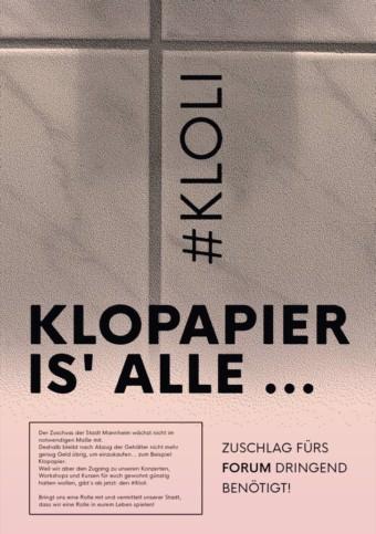 Die #kloli-Kampagne | Quelle: Jugendkulturzentrum forum