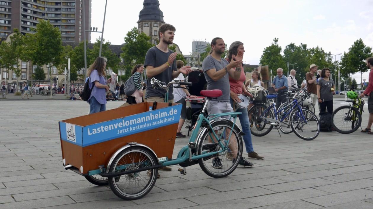 Die Mannheimer*innen wünschen sich mehr Raum für Fahrradverkehr   Foto: M. Schülke