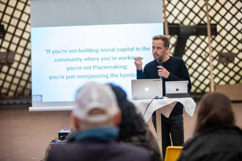 Der Berliner Urbanist Dr. Sebastian Schlueter | Foto: Startup Mannheim / Steffen Baumann