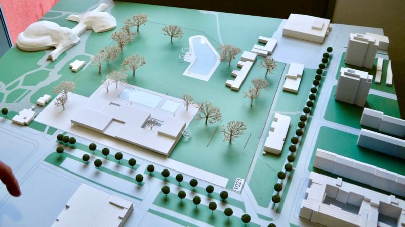Einer der beiden Siegerentwürfe für das neue Kombibad | Foto: M. Schülke