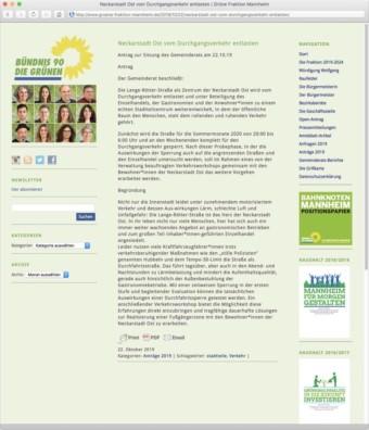 Screenshot: gruene-fraktion-mannheim.de