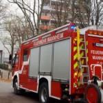 Brand in Hochhaus im Herzogenried