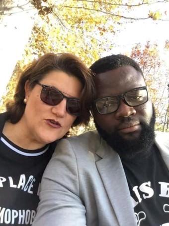 Vom europäischen Asylsystem getrennt: Daniela und Stephen | Bild: privat