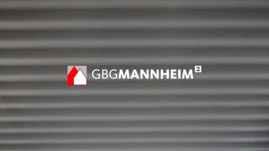 Logo der GBG Mannheimer Wohnungsbaugesellschaft mbH | Screenshot: GBG-Imagefilm