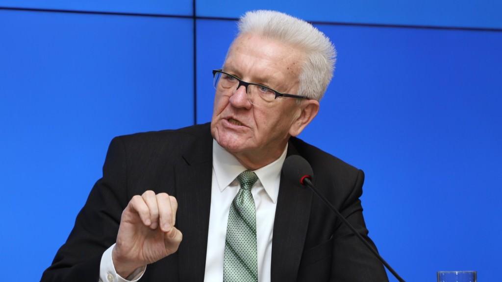 Ministerpräsident Winfried Kretschmann   Foto: Staatsministerium Baden-Württemberg