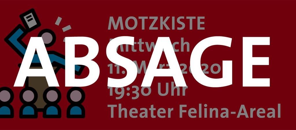 Absage Motzkiste 2020
