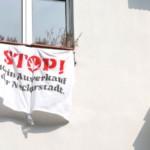 Fenster- und Balkon-Aktionen gegen Mietwucher und Verdrängung