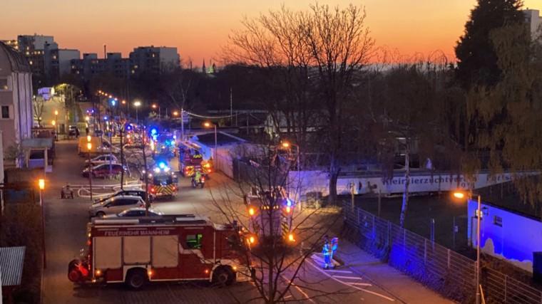 Feuerwehr an der Radrennbahn | Foto: privat