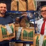 Quartierbüro Wohlgelegen erhält Lebensmittel für bedürftige Menschen