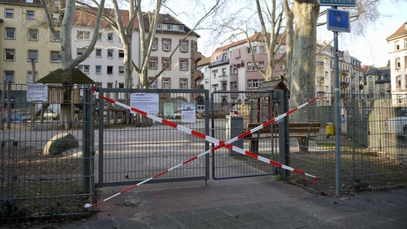 Gesperrter Spielplatz | Foto: M. Schülke