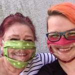 Community-Masken mit Sichtfenster helfen Hörgeschädigten