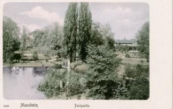 Der Friedrichspark in früheren Zeiten | Bildnachweis: MARCHIVUM Mannheim, Bildsammlung