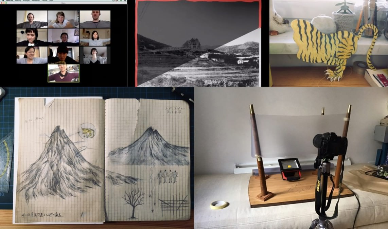 qingdao a messy archive collage jntm 1142x674 - Die erste Online-Produktion am Jungen Nationaltheater feiert Premiere