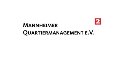 Trägerverein der Mannheimer Quartiermanagements, ist der gemeinnnützige Mannheimer Quartiermanagement e.V., kurz MaQua. | Logo: MaQua