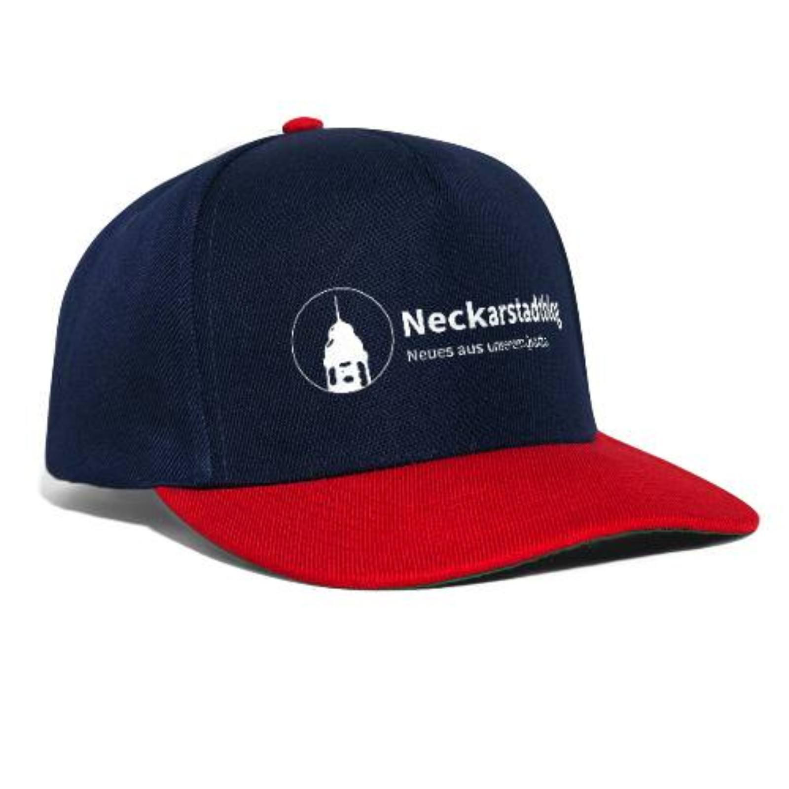 neckarstadtblog-logo-claim-snapback-cap