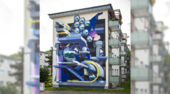 Mural in der Zeppelinstraße | Foto: Stadt.Wand.Kunst