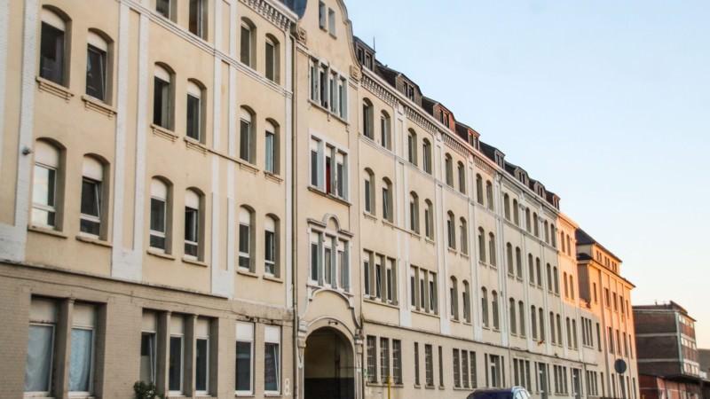 Die Landeserstaufnahme (LEA) in der Industriestraße (Archivbild) | Foto: CKI