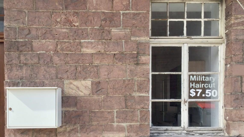 Historische Haarmode auf dem ehemaligen Militärgelände | Foto: M. Schülke