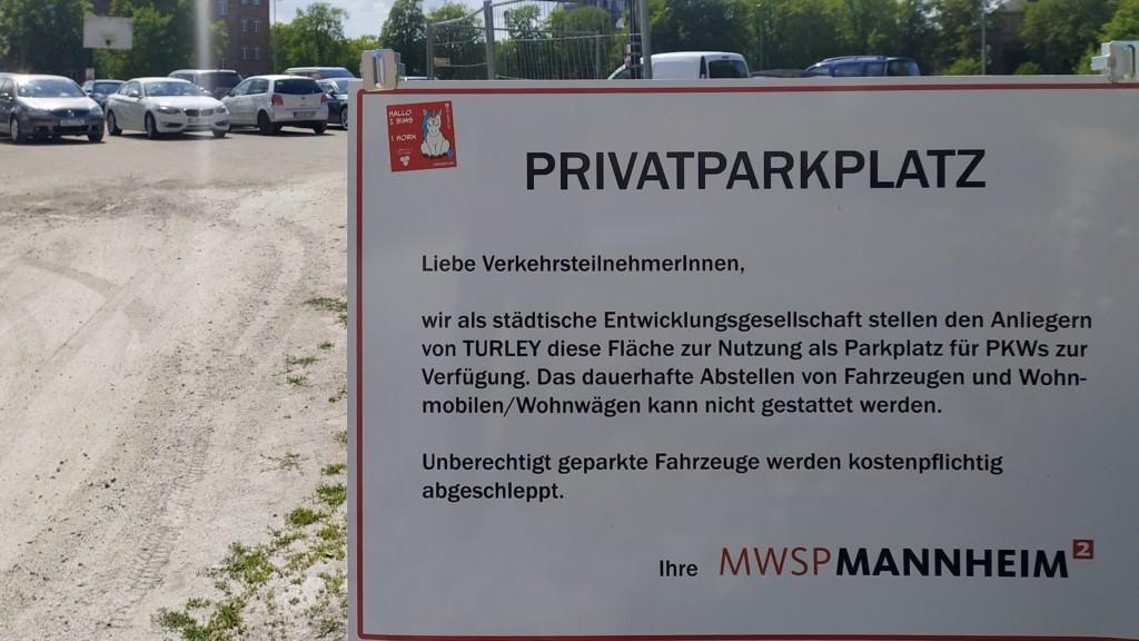 Privatparkplatz statt öffentlicher Raum | Foto: KHP