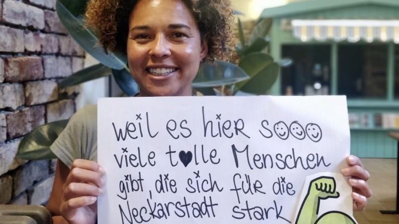 Jennifer Yeboah lebt seit vielen Jahren in der Neckarstadt-West und ist seit kurzem dort Quartiermanagerin | Foto: QM Neckarstadt-West