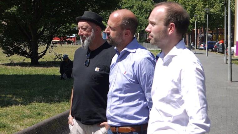 Die Stadträte Markus Sprengler (Grüne), Thomas Hornung (jetzt CDU, früher Grüne) und Nikolas Löbel (CDU) | Foto: M. Schülke