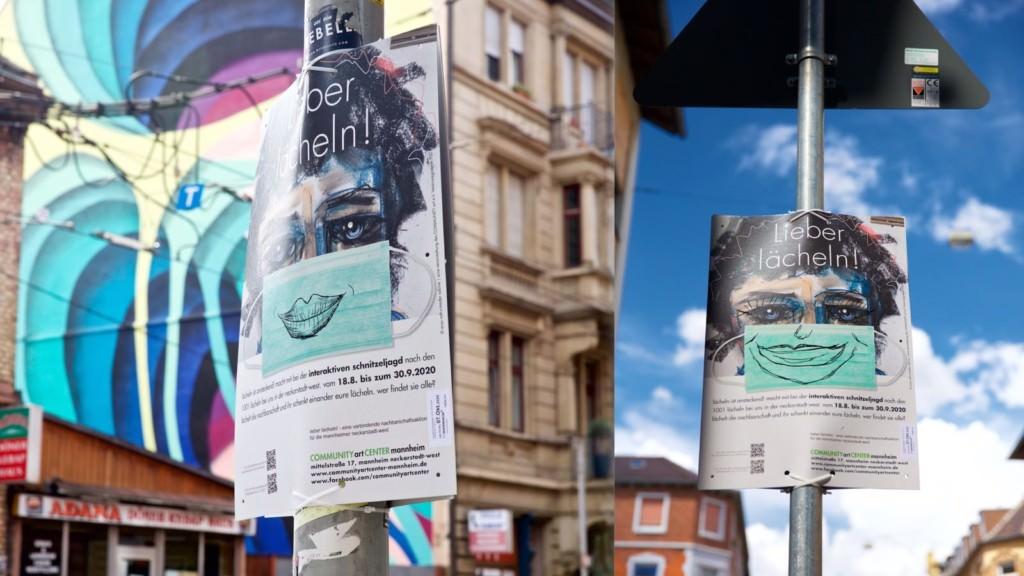 Ausstellung im öffentlichen Raum | Fotos: Sabine Mader