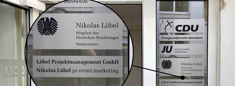 Zwei Firmen Löbels teil(t)en sich die Räumlichkeiten u.a. mit dem Wahlkreisbüro | Foto: M. Schülke