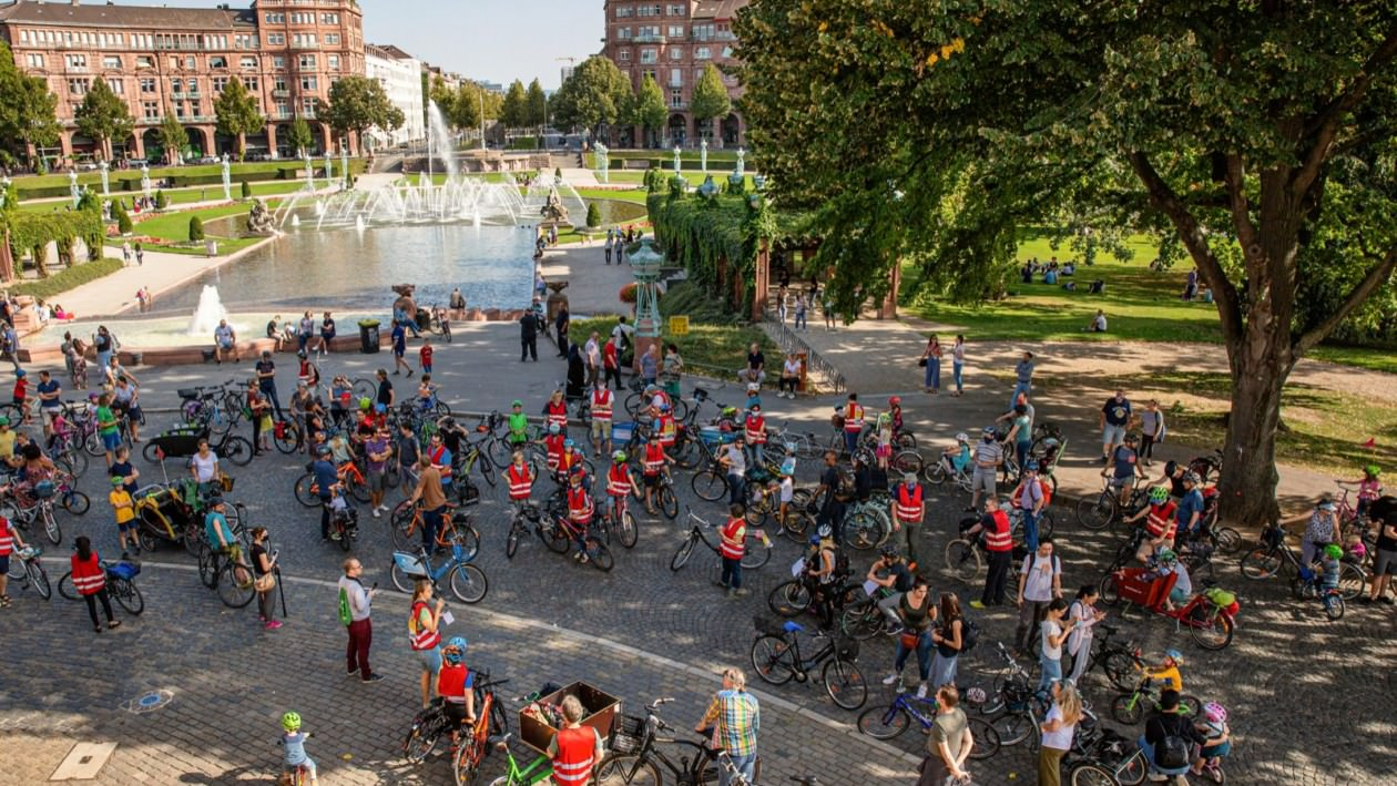 Kidical Mass Mannheim im September 2020 | Foto: Lys Y. Seng