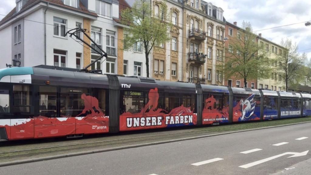 Eine Straßenbahn in der Waldhofstraße (Symbolbild) | Foto: privat