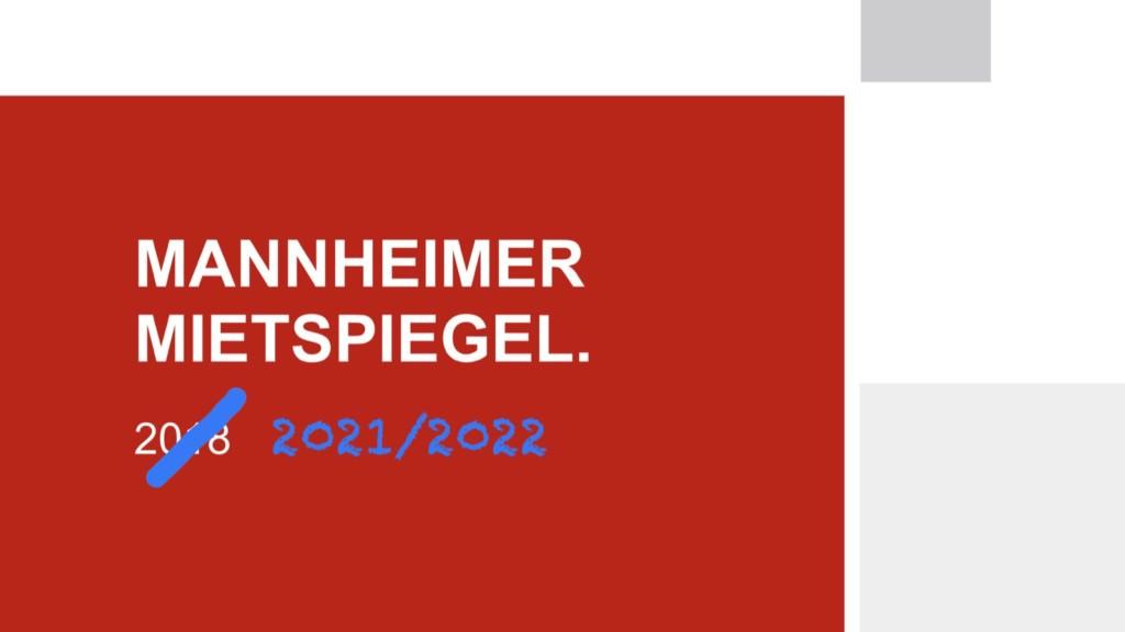 Der Mietspiegel ist ab dem 16. Dezember 2020 für das gesamte Stadtgebiet Mannheim gültig (Montage)