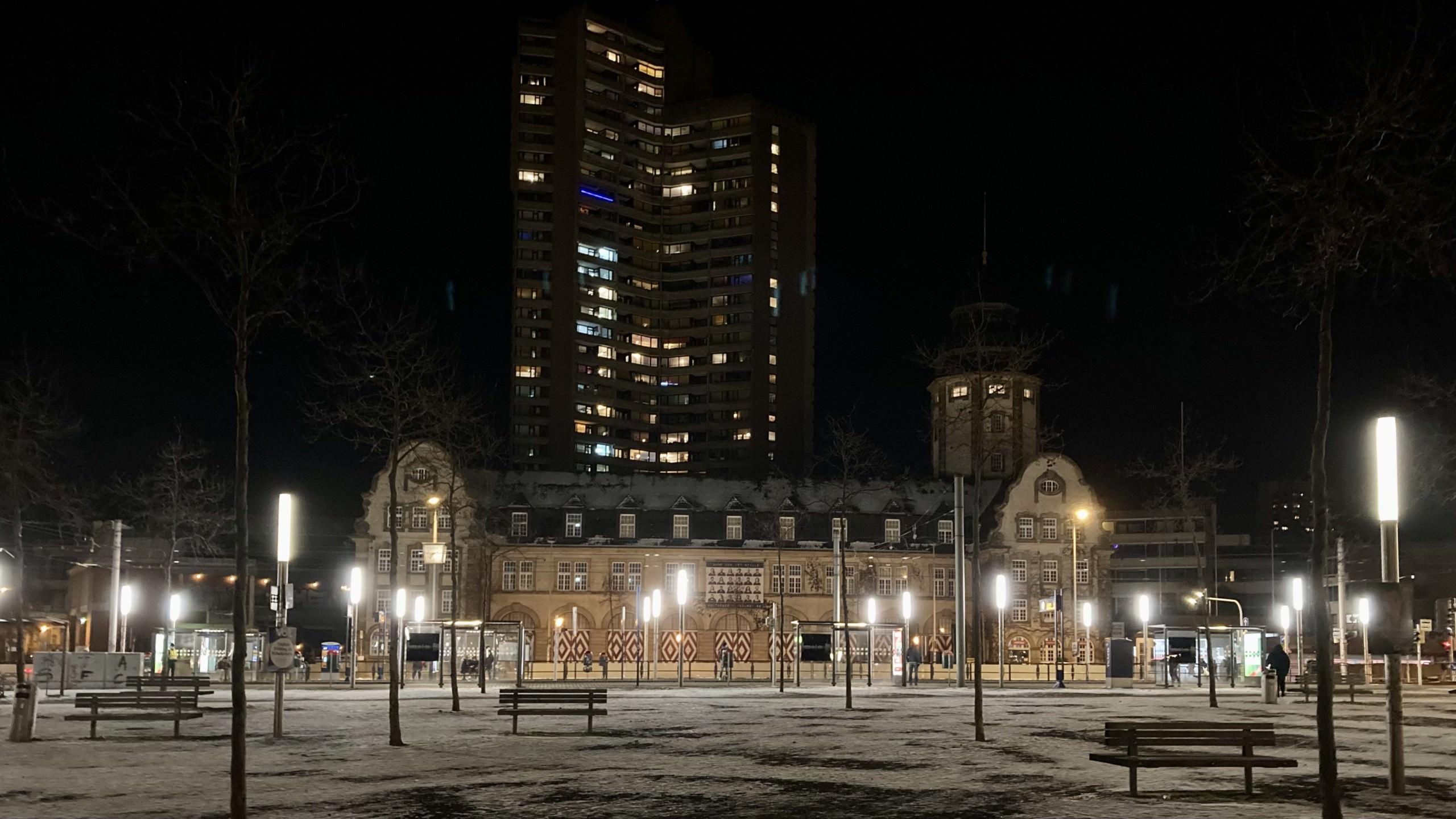 Gähnende Leere auf dem Alten Messplatz   Foto: M. Schülke