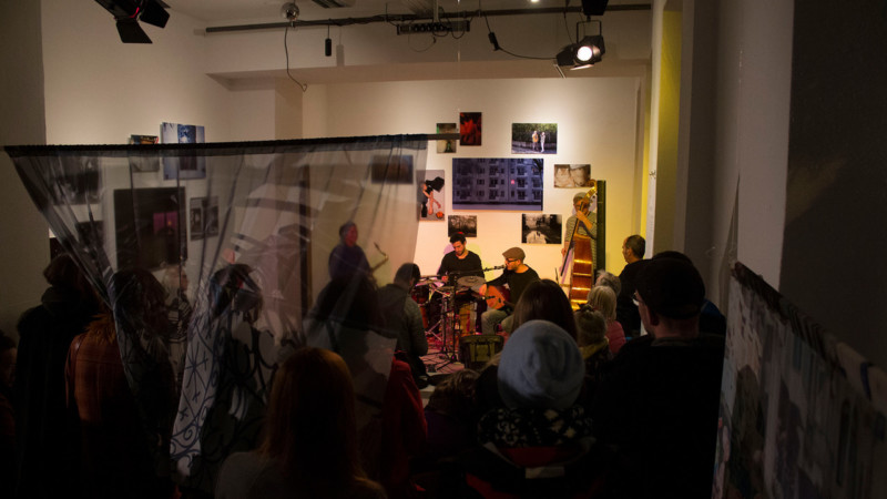 Eine Veranstaltung des Community Art Center Mannheim in Vor-Corona-Zeiten | Foto: CaCM