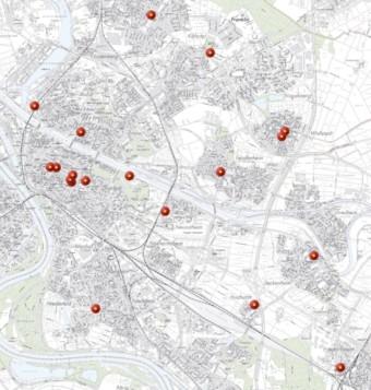 karte schnelltest zentren mannheim 340x357 - OB: Mit Ruhe und Achtsamkeit gegen die aktuelle Pandemiewelle