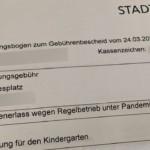 Kinderbetreuungsgebühren für den März sollen anteilig erlassen werden