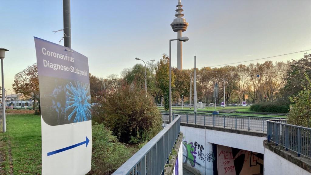 Der Diagnose-Stützpunkt liegt außerhalb der Universitätsklinik | Foto: M. Schülke