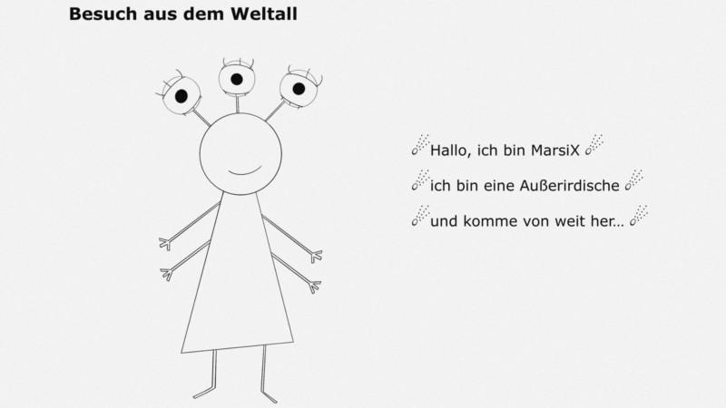 Die Kinder sollen spielerisch die Stadtteile erkunden und einer außerirdischen Besucherin deren Besonderheiten erklären | Bild: Stadt Mannheim