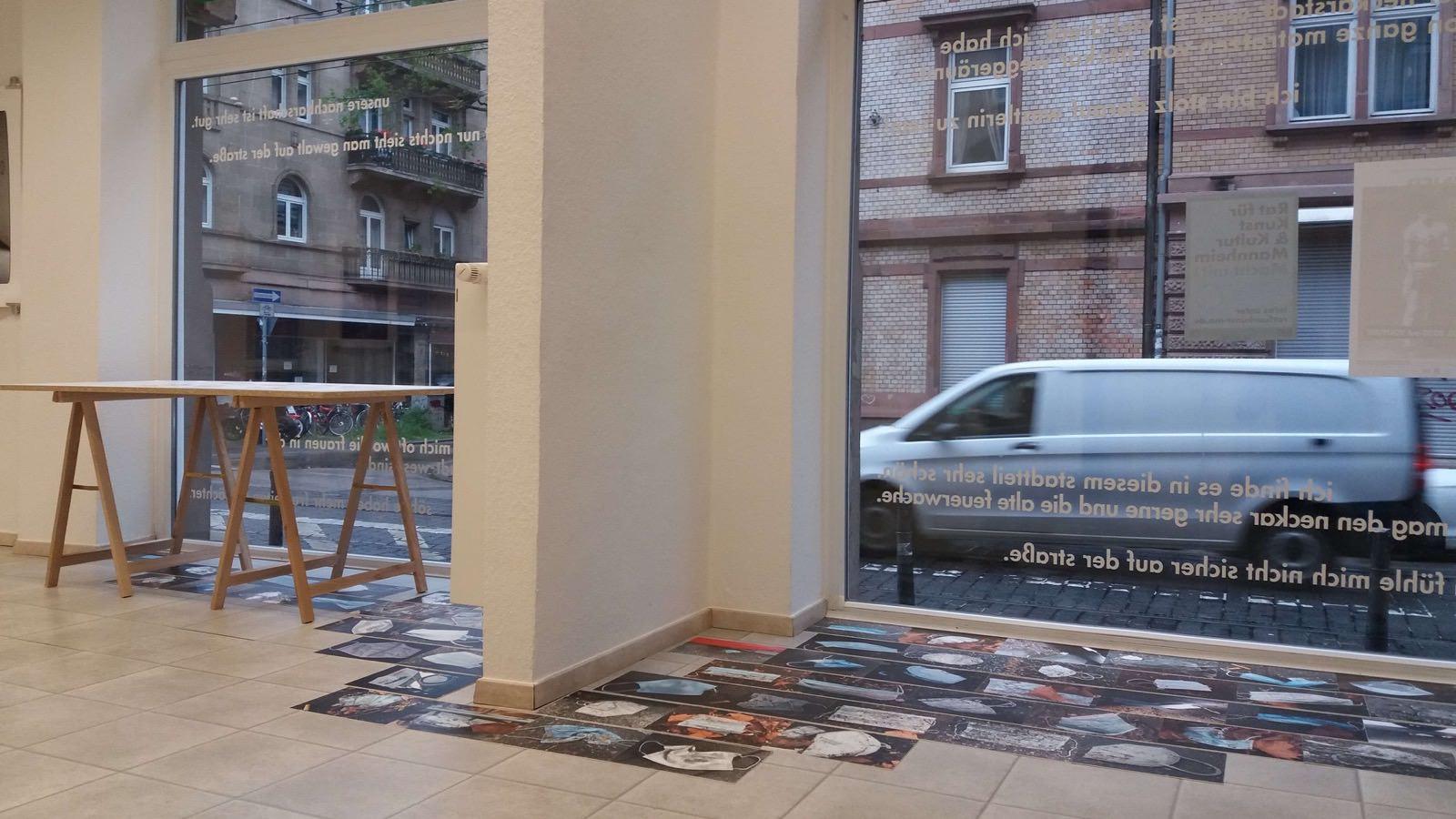Die erste nicht-digitale Ausstellung seit November 2020 in den Räumlichkeiten in der Neckarstadt-West   Foto: CaCm