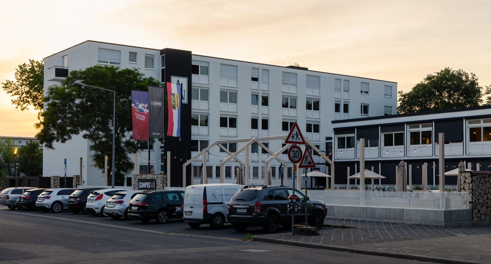 Schöner Wohnen ab 780 Euro für ein Zimmer – Campus68 am Neuen Messplatz   Foto: CKI