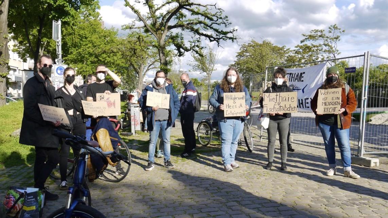 demo dammstr 19 p1090735 1142x643 - Starker Protest gegen Luxuspläne der Thor-Gruppe